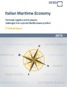 Italian Maritime Economy. Terminals, logistics and its players: challenges from a pivotal Mediterranean position  Annual Report 2015