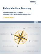 Italian Maritime Economy. Rischi e Opportunità al centro del Mediterraneo  Rapporto Annuale 2015