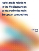 Italy's trade relations in the Mediterranean – March 2012