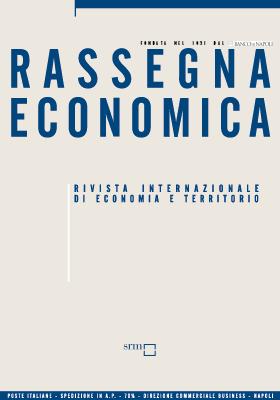 Rassegna Economica 1 / 2015