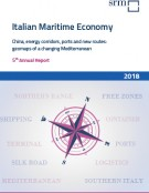 Italian Maritime Economy. China, energy corridors, ports and new routes: geomaps of a changing Mediterranean